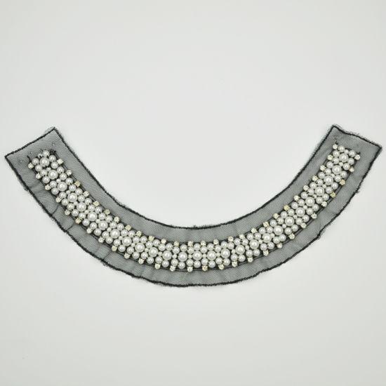 Marigold Customize Beaded Neck Trim for Garment