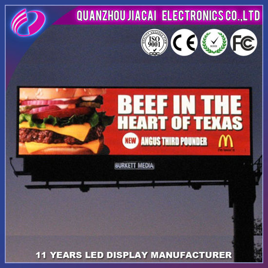 P8 Outdoor Full Color Advertising Display