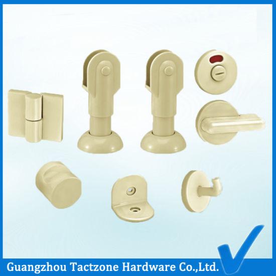 Superior Quality Plastic Toilet Partition Bathroom Cubicle Hardware Accessories