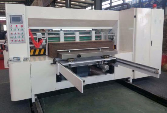 China High Speed Corrugated Cardboard Box Die Cutting Machine