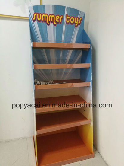 China Toys Flooring Display Shelf Stand Cardboard Display Rack For Fascinating Cardboard Display Stands Uk