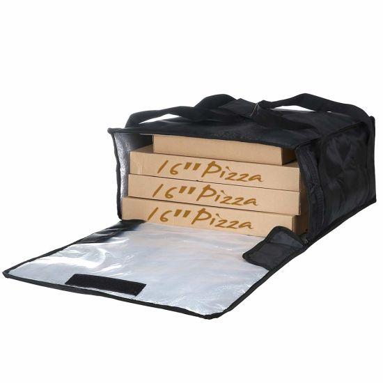 e303b3e4813e China Insulated Sandwich Pizza Food Delivery Bag for 6