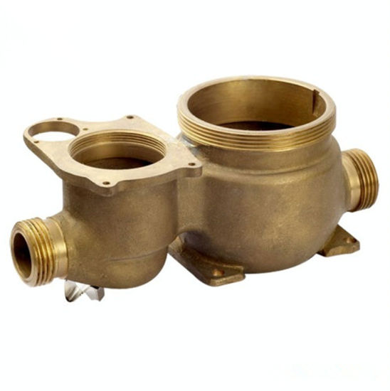 OEM Custom Brass and Bronze Casting for Pump Parts pictures & photos