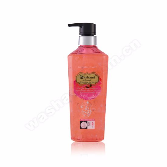 Washami Natural Plant Flowers Professional Skin Care Shower Gel pictures & photos