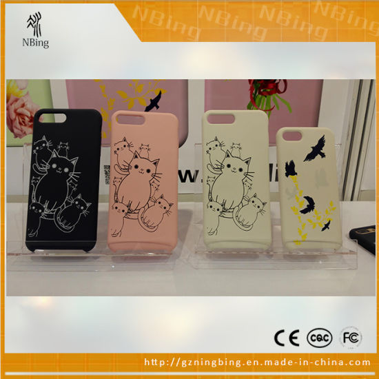 China High Quality Silicone Phone Cases for iPhone 7, New