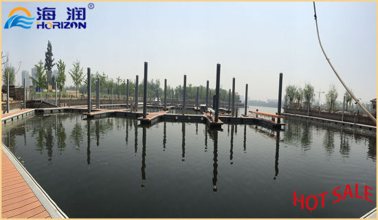China Competitive Price Pontoon Floating High Bouyancy Dock Boat