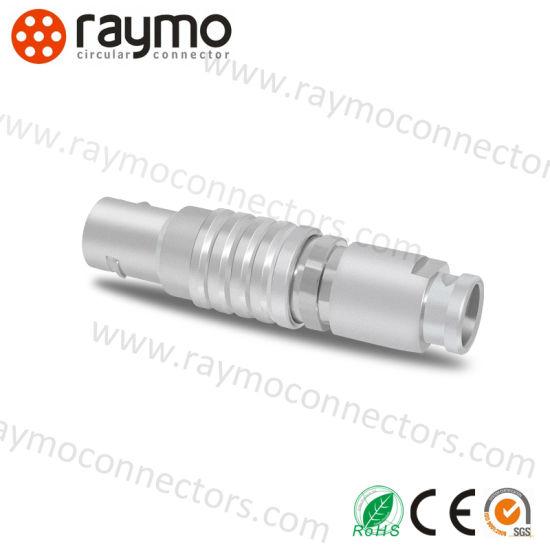 Push-pull 0B 2 3 4 5 6 7 9 Pin Circular Plug Socket Connector EGG FGG Male