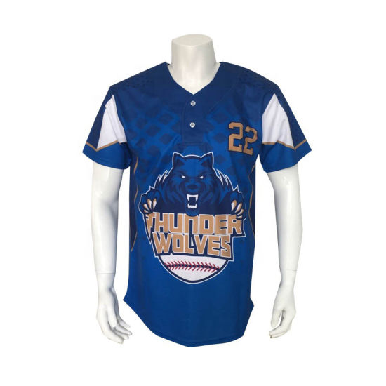 78940f0a81a 100% Polyester Custom Colorful Sublimated Baseball Jersey Team Jersey Team  Shirt
