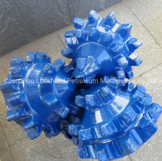 """8 1/2"""" Milled/Steel Tooth Tricone Water Drill Bit"""