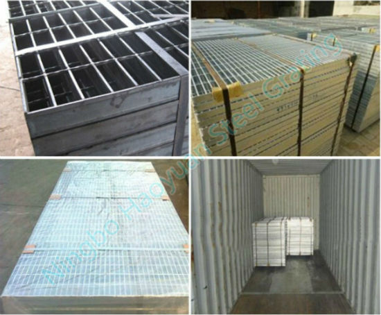 Different Applications of Steel Grating Stair Tread Series One pictures & photos