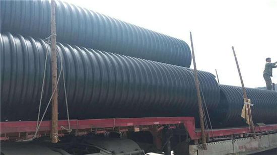Steel Band Polyethylene Corrugated HDPE Pipe Wholesale