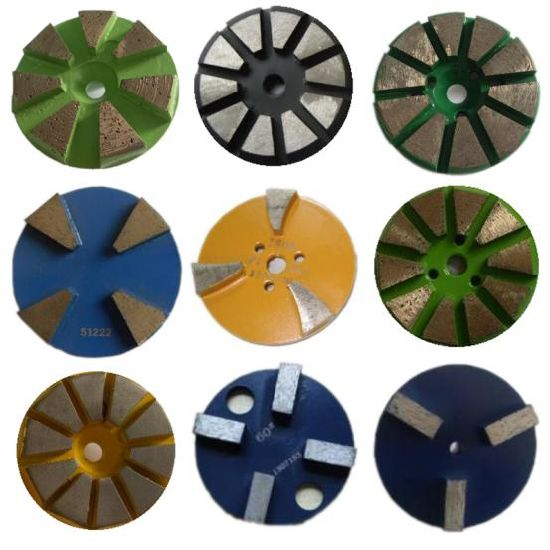 Gushi Diamond Metal Bond Floor Polishing Pads for Concrete pictures & photos