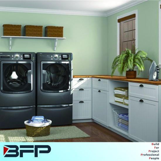 Customized Base Cabinet For Laundry
