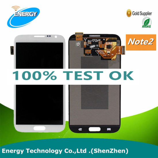 LCD Display Colorful Screen for Samsung Note 2 Screen Assembly with Touch Digitizer