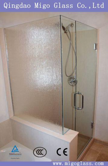textured glass shower doors. Frameless Patterned / Textured Glass Shower Door Doors D