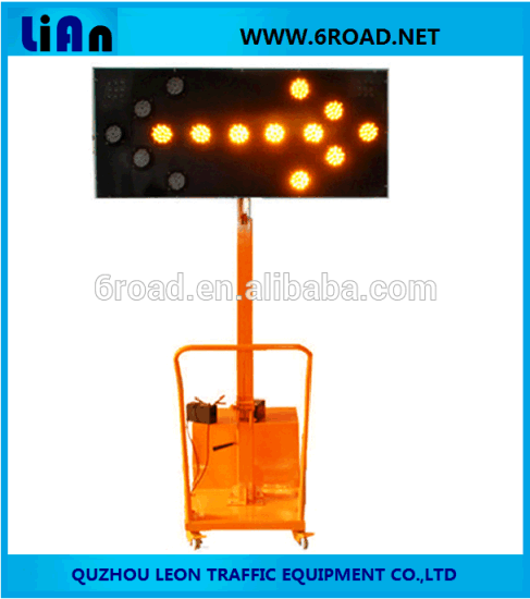 Mobile Trailer Arrow LED Sign pictures & photos