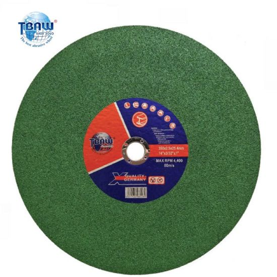 350 Green Stainless Steel Special Abrasive Cutting Disc