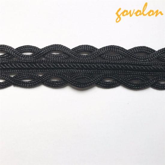 Fashion Hand-Made Black Tape