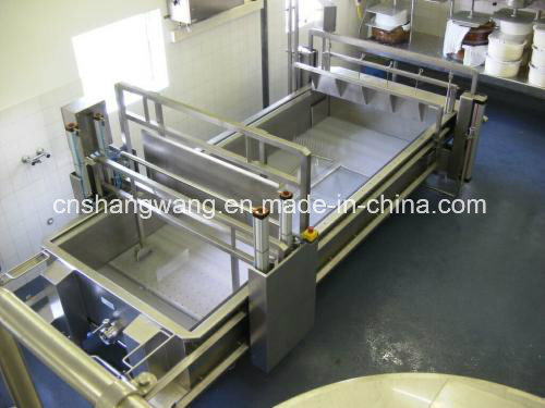 Close Type Cheese Vat with CIP Device pictures & photos