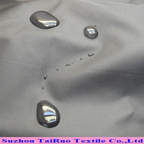 Nylon with Shiny Waterproof Fabric for Down Jacket pictures & photos