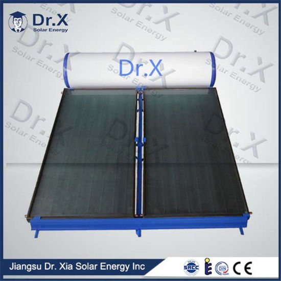 High Efficiency Compact Pressurized Flat Plate Solar Water Heater