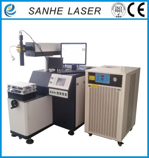 Automatic Four-Shaft Linkage Laser Welding Machine for Sanitary Industry pictures & photos