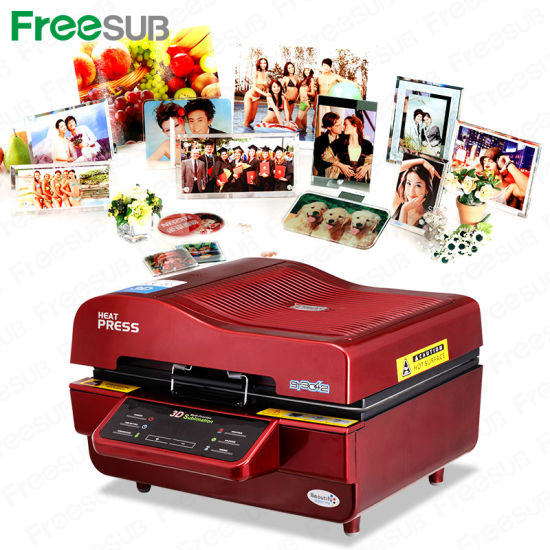 3D Vacuum Heat Press All in One Sublimation Machine