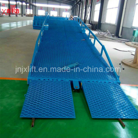 China Container Load Dock Ramp Truck Ramp For Forklift