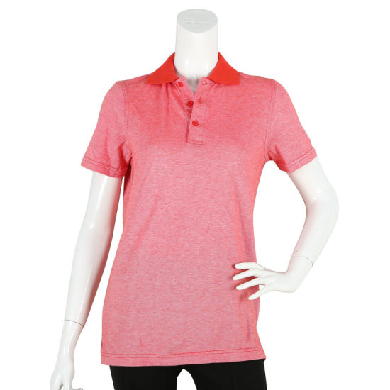 Sublimation Print Embroidery Slim Customized Polo Shirt