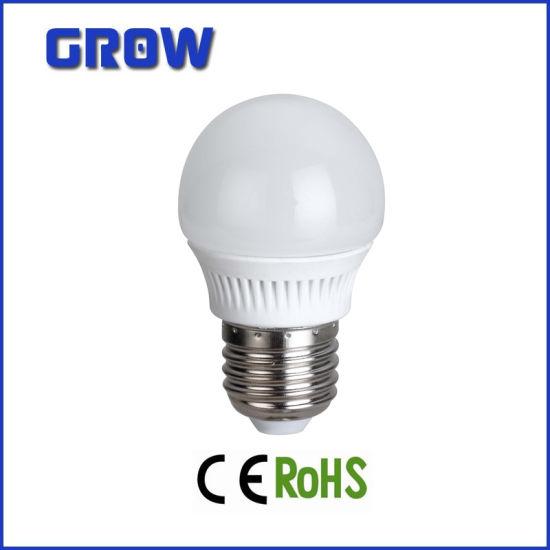 Lower Price 3.5W G45 E27 Plastic LED Bulb Lamp