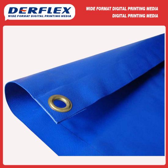 1000d Flexible Tent Truck Cover Canvas PVC Coated Fabric Tarpaulin