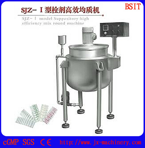 Semi-Auto Pharmaceutical Machine Suppository Filling Sealing Cooling Cutting Machine for Bzs pictures & photos