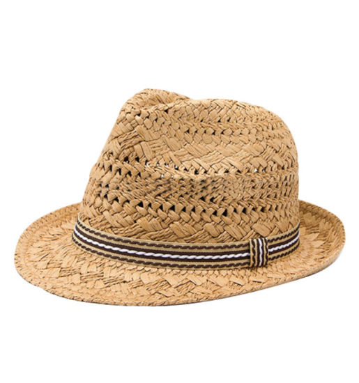 China Best Selling Custom fashion Fedora Hat Summer Paper Straw Hat ... acfb44fb656