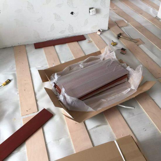 China Nail Down Installation For Balsamo Hardwood Flooring
