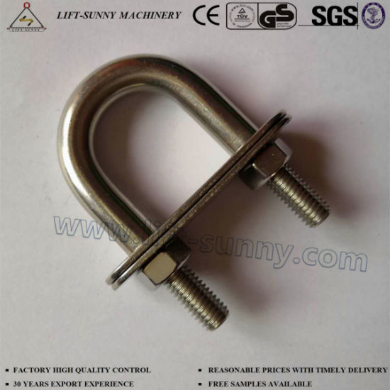 China 304 316 Stainless Steel U Clamps U Bolts - China Snap