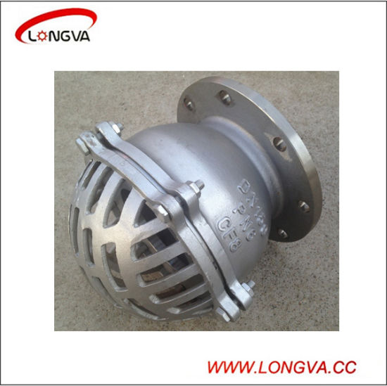 Stainless Steel Water Pump Flanged Foot Valve pictures & photos
