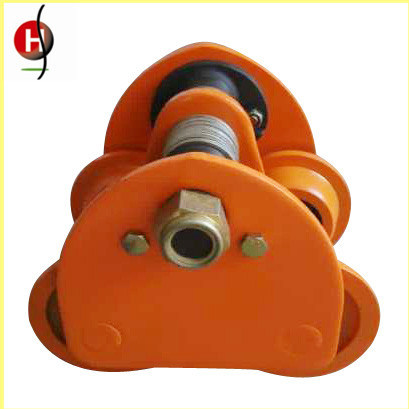 Top Quality 10t Manual Plainted/Geared Trolley for Chain Block and Electric Chain Hoist pictures & photos