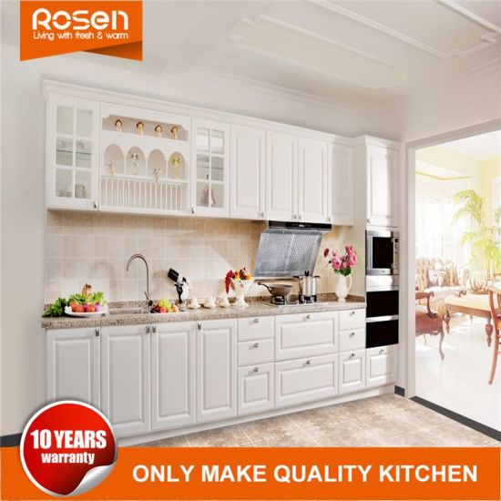 China Small Kitchen Design Simple Home Lacquer Kitchen Cabinets