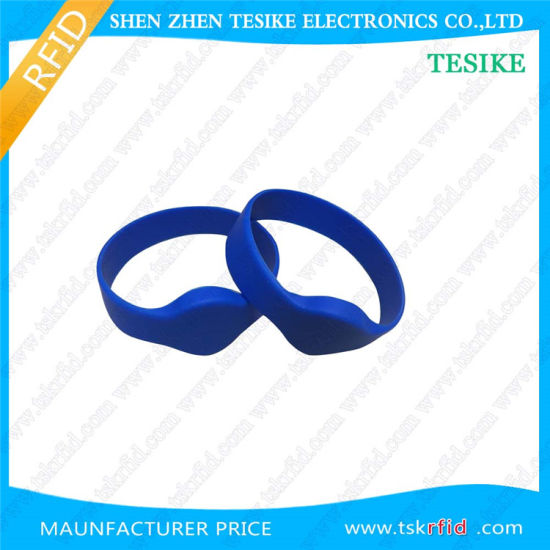 13.56MHz Waterproof NFC S50 Silicon RFID Wristband Price