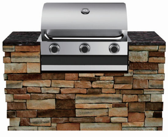 China Outdoor Kitchen Barbecue Grills Built In Bbq