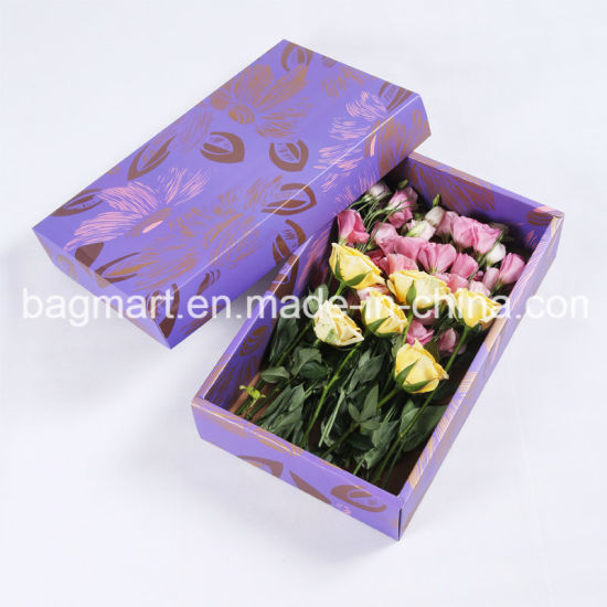 Custom Printed Color Packaging Box, Cardboard Paper Flower Box, Gift Box pictures & photos