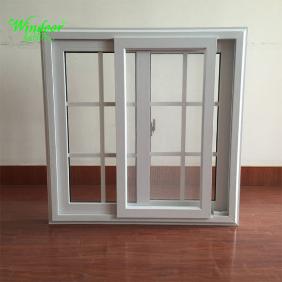 arch top grill design double glazing upvc sliding window design