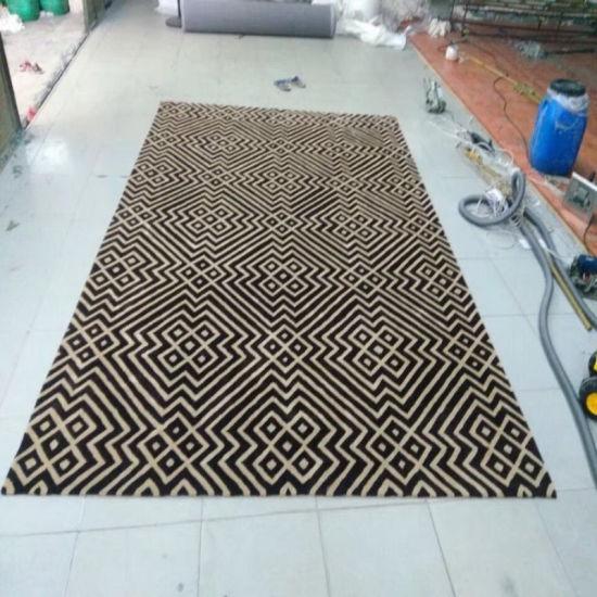 China Shiny Super Soft Pattern 100% Silk Handtufted Carpet ...