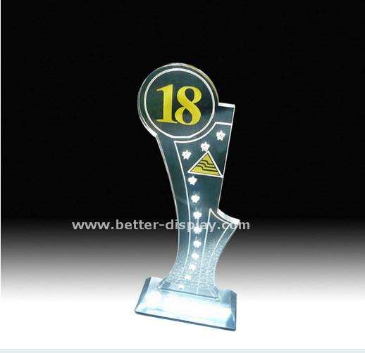 Custom Acrylic Trophy Crystal