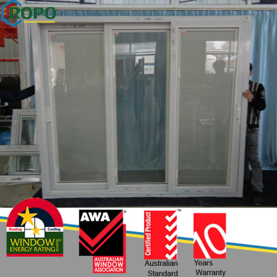 China Commercial Automatic Sliding Glass Doors with Plastic Frame