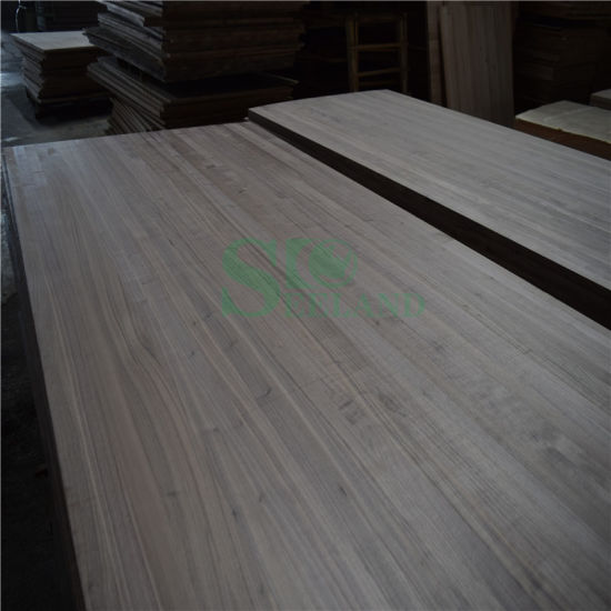 Black Walnut Wood Used on Wall Panel for Decoration