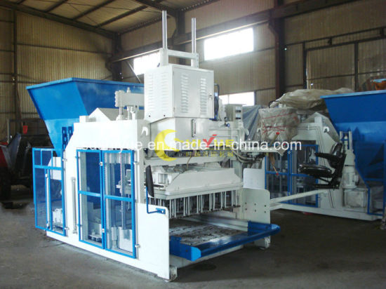 Qmy10-15 Automatic Hydraulic Cement Mobile Block Making Machine pictures & photos