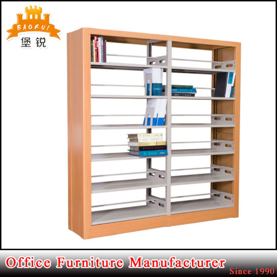 School Library Furniture Best Price Steel Book Rack pictures & photos