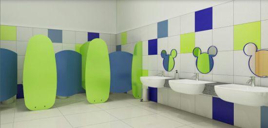 preschool bathroom design. Safe And Cute Waterproof Toilet Cubicle For Kindergarten Preschool Bathroom Design S