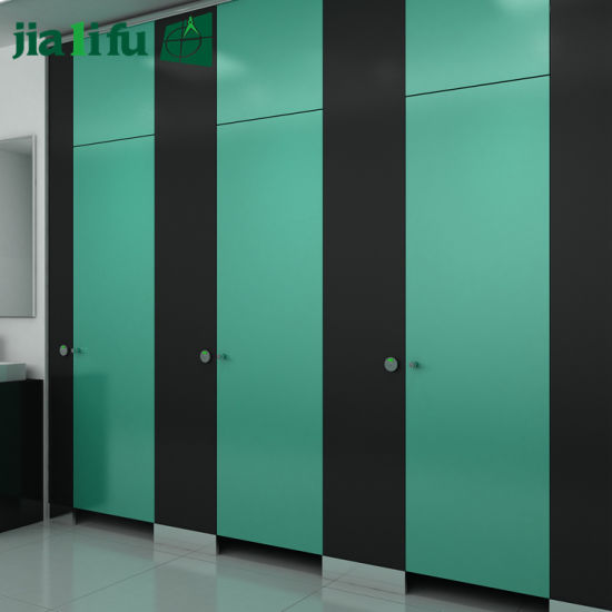Jialifu Compact HPL Panel Toilet Cubicle Partition pictures & photos